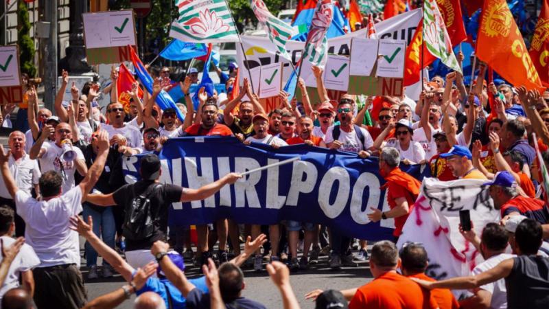Whirlpool: Se esplode la rabbia operaia