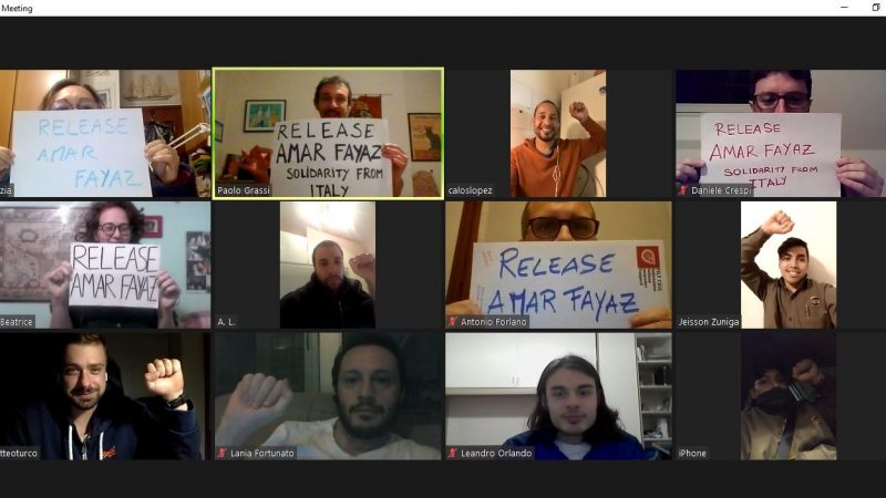 Liberate Amar Fayaz e tutti i prigionieri politici!