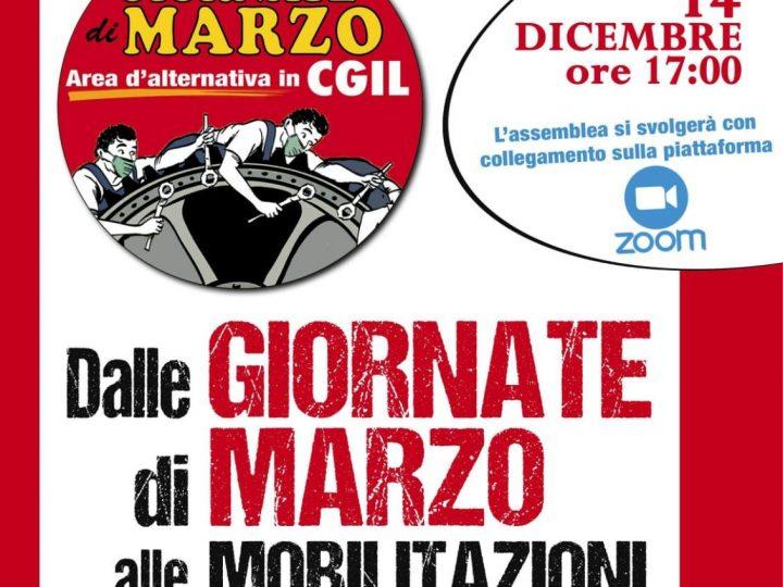 Presentazione dell'area Giornate di marzo in Campania – Lunedì 14 dicembre
