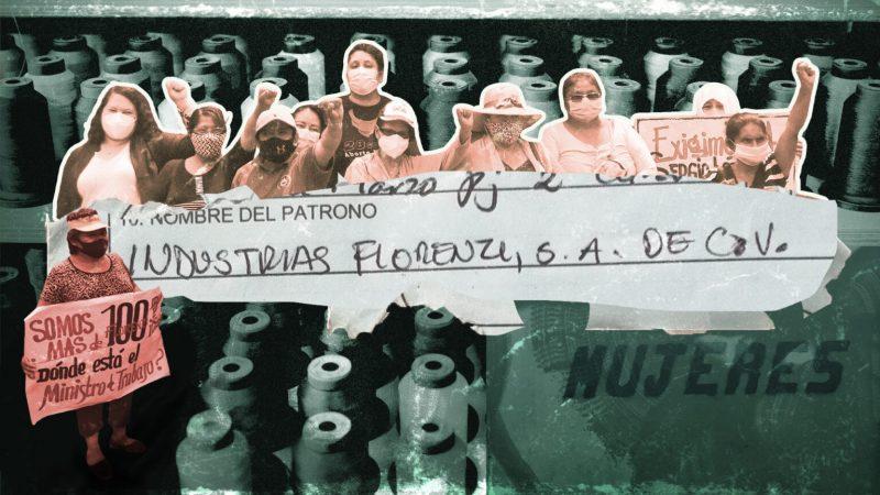 SOLIDARIETA' ALLE LAVORATRICI E AI LAVORATORI DELL'INDUSTRIA  FLORENZI (EL SALVADOR)
