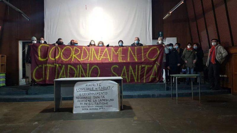Continua l'occupazione per salvare l'ospedale di Cariati!