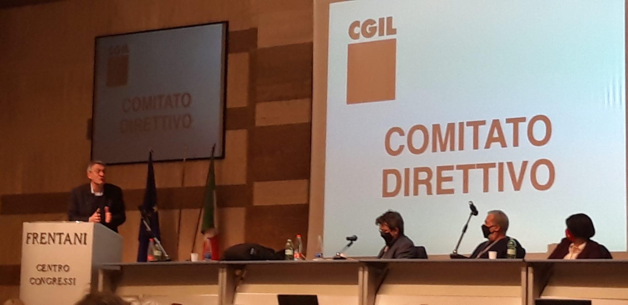 Direttivo nazionale della CGIL del 23 marzo 2021