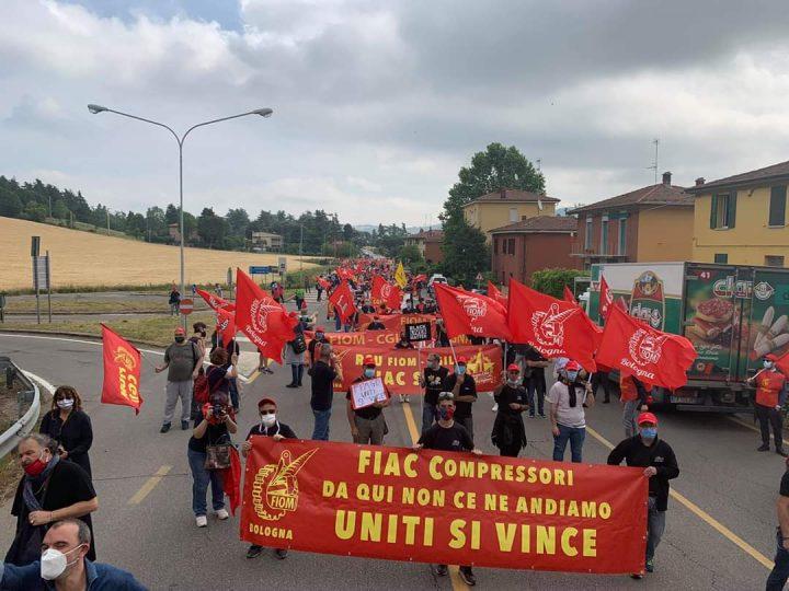 """BOLOGNA – Accordo FIAC del 4 marzo:  Il """"Piano sociale"""" sancisce la chiusura della fabbrica"""