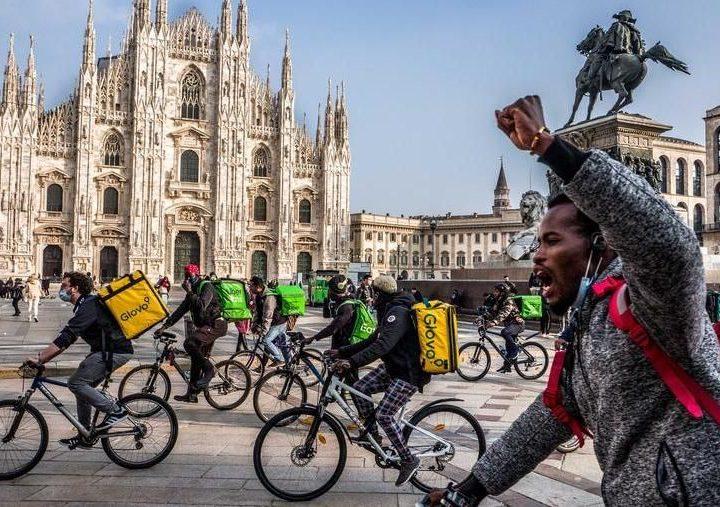 Sciopero riders: conquistare diritti con la mobilitazione! (Ita & Eng version)