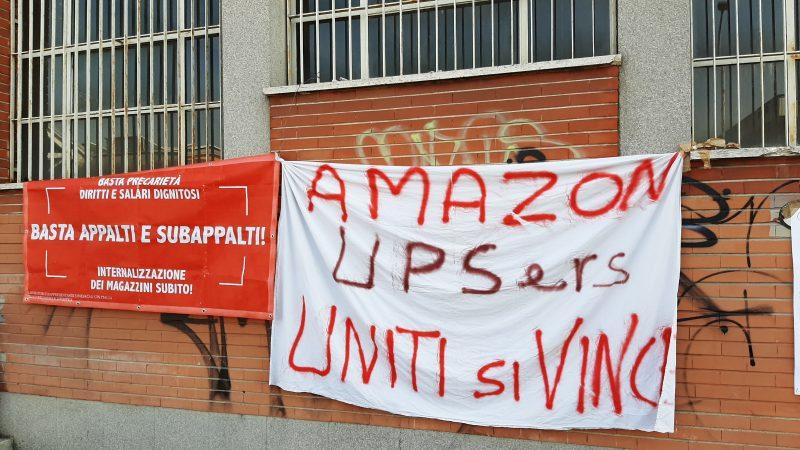 Amazon e non solo.       Avanza la lotta nella logistica
