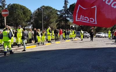 ROMA – NELL'INTERESSE DI LAVORATORI E UTENTI RIVOGLIAMO AMA MUNICIPALIZZATA PUBBLICA!