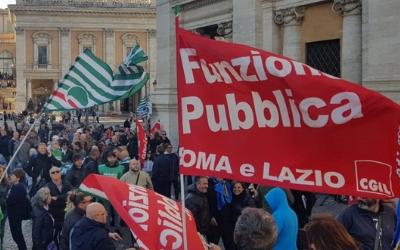 Roma, un'adesione all'area Giornate di marzo dall'AMA.