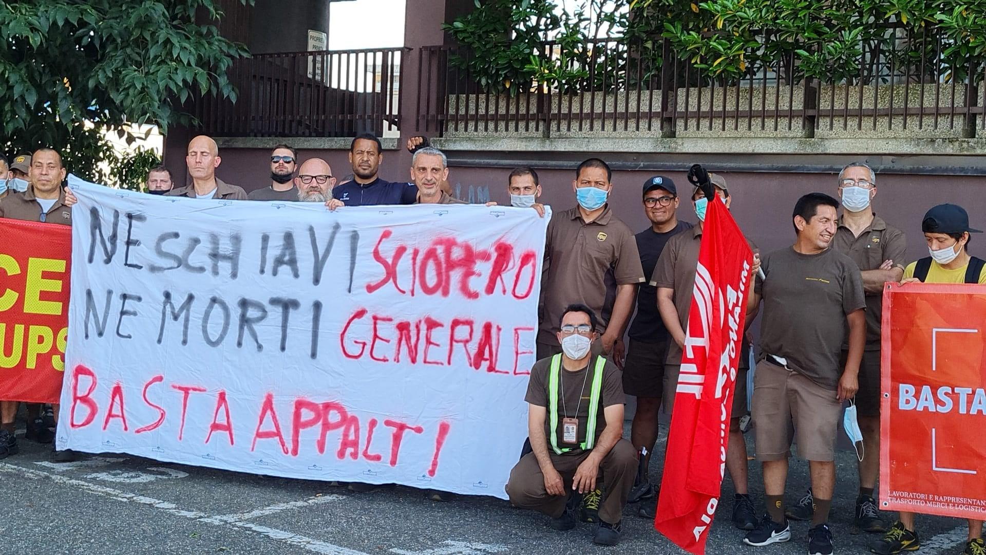 Solidarietà operaia con Adil: la lotta è contro padroni e sfruttamento!