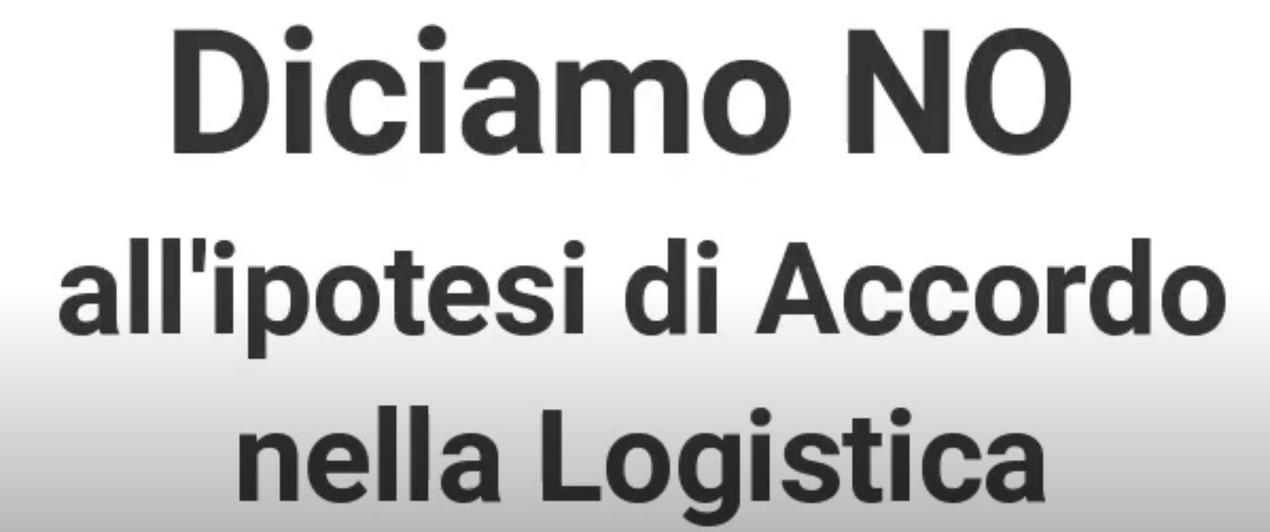 Continua la campagna per il NO all'accordo per il rinnovo del CCNL merci e logistica